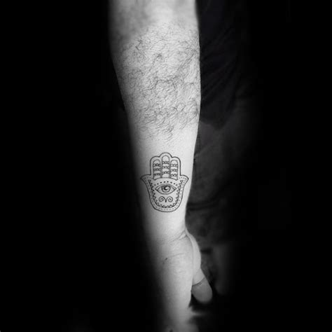 tattoo on outer hand 80 hamsa tattoo designs for men evil eye ink ideas
