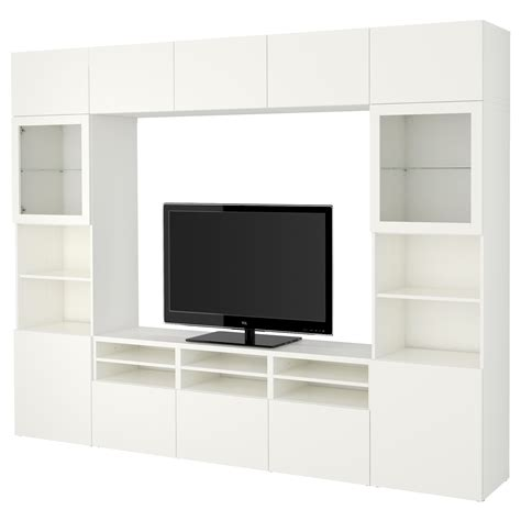 ikea besta tv combination best 197 tv storage combination glass doors lappviken sindvik white clear glass