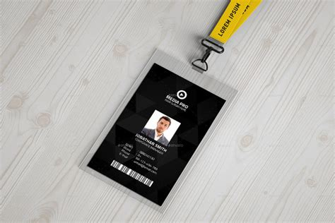 employee id card template vector 17 id card templates free sle exle format