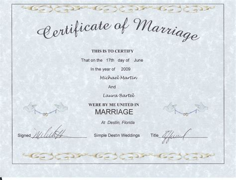 Marriage License Records Arizona Free Simple Destin Weddings Pricing Info