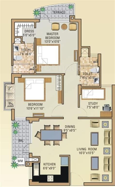celebrity homes floor plans 1220 sq ft 2 bhk 2t apartment for sale in aditya gzb