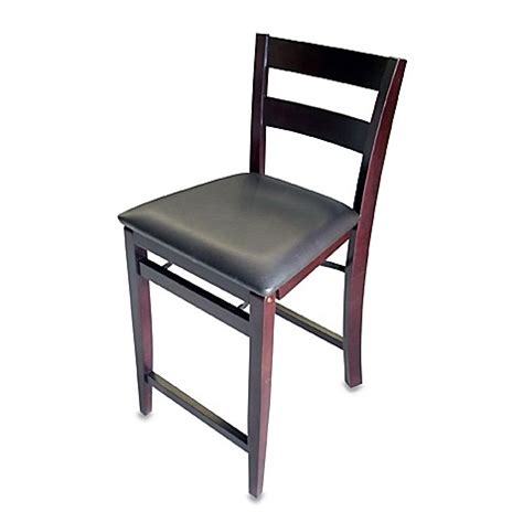 Bed Bath And Beyond Folding Stool by Soho 24 Quot Folding Bar Stool Bed Bath Beyond