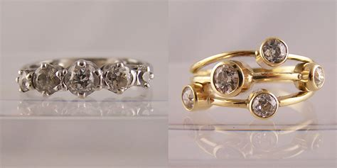 resetting wedding ring white gold resetting rings wedding promise