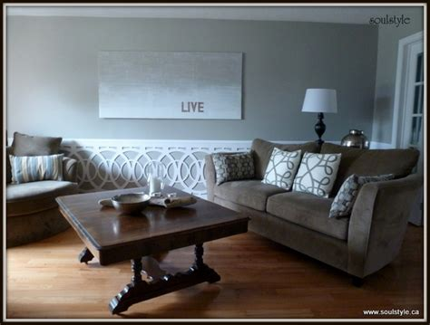 wainscoting in living room living room wainscot soulstyle interiors and design