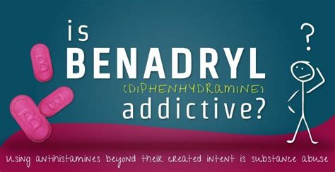 Detox Benadryl by Is Benadryl Diphenhydramine Addictive