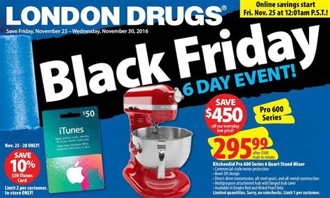 London Drugs ? Black Friday Canada