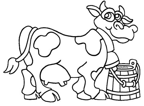 dairy cow coloring page free coloring pages of cow spots