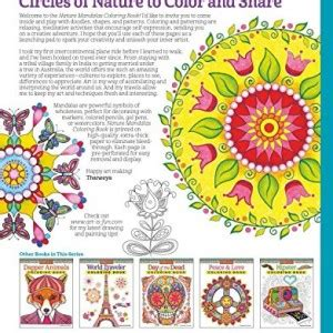 nature mandalas coloring book design originals coloring animal mandalas