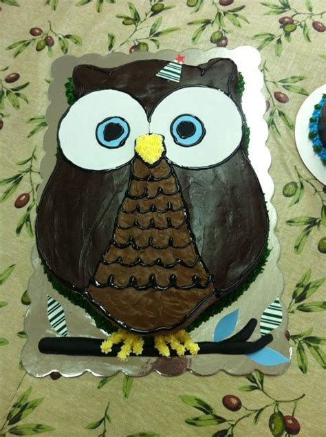 owl template for cake pin pin owl cake template picture to cake on