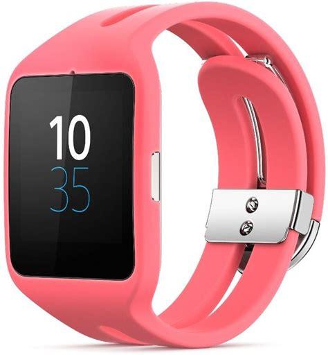 Sony Smartwatch Swr50 sony smartwatch 3 swr50 silicone sport wristlet pink skinflint price comparison uk
