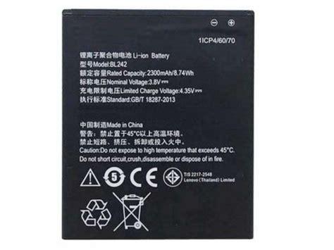 Baterai Lenovo Bl242 For Lenovo K3 K3t A6000 2300 Mah bl242