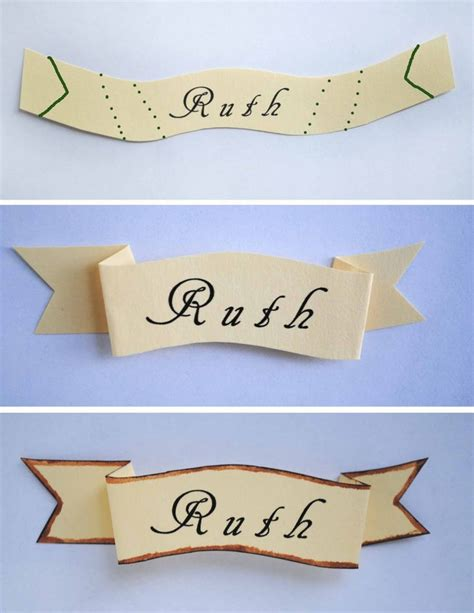 Place Card Holders Template by 25 Best Ideas About Banner Template On