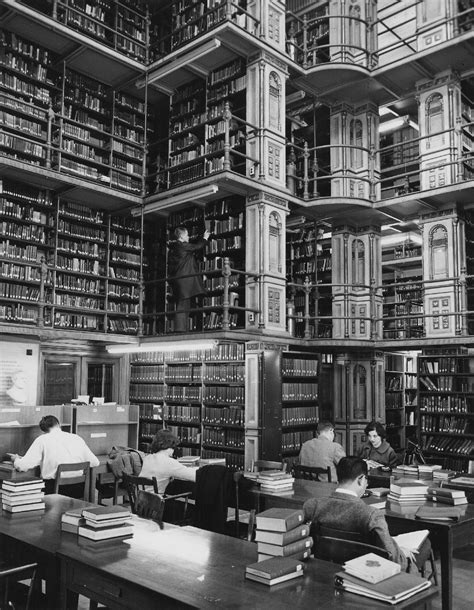 Riggs Library in Georgetown University's Healy Hall