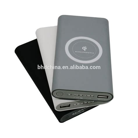 qi wireless charger power bank 10000 mah for iphone for