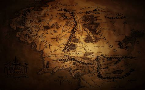 middle earth map wallpapers wallpaper cave