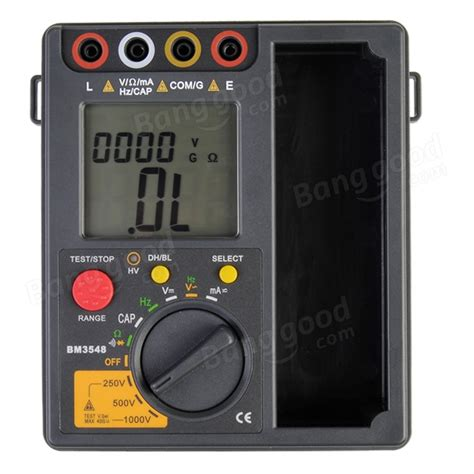 testing resistors with a digital multimeter bm3548 digital insulation resistance multimeter test meter us 52 78