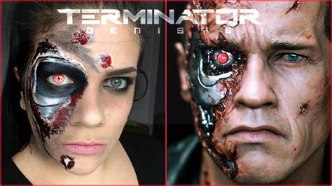 Tutorial Makeup Terminator   terminator inspired halloween makeup tutorial
