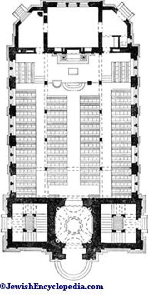 synagogue floor plan synagogue jewishencyclopedia com