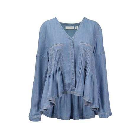 Blouse Jummbo Lq second sass and bide the turn denim blouse the fifth collection