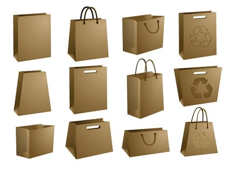 bolsas de papel cart 243 n para packaging en psd puertopixel com