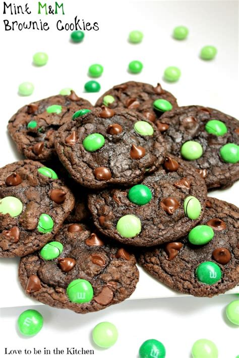 Melty Brownie By Qiefa Kitchen mint m m brownie cookies to be in the kitchen