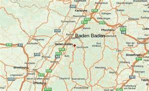 Baden Germany Map by Baden Baden Location Guide