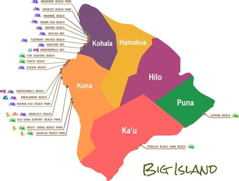 map of hawaiian islands and california best 10 big island hawaii ideas on islands of
