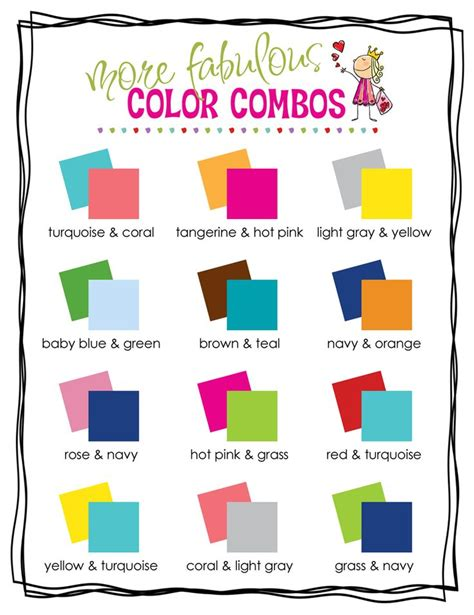 colour combos 25 best ideas about color combinations on clothing color combinations