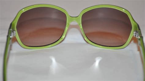 Robert Marc Handmade Glasses - robert marc handmade black lucite with lime green interior
