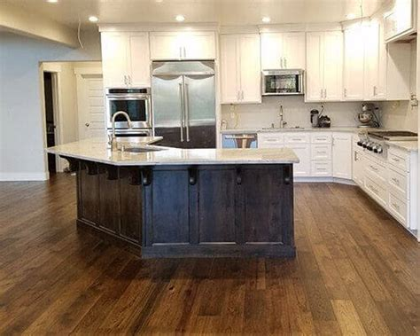 Kitchen Flooring Installation by Novella Hardwood Collection