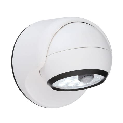 light it wireless led porch light light it white 6 led wireless motion activated