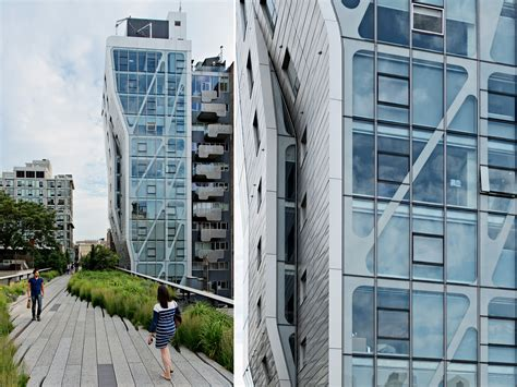 Hi Line Sheds by Exploring New York City A Walk On The Highline Park With