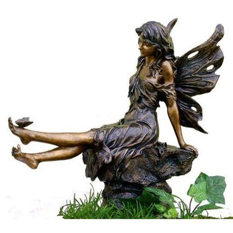 Garden Figurines by Fairies Statues And Figurines Garden