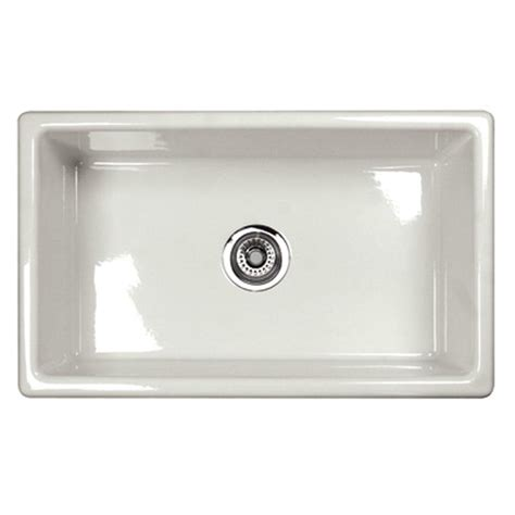 Modern Undermount Kitchen Sinks Rohl Shaws Classic Modern Undermount Fireclay Kitchen Sink Um3018bs