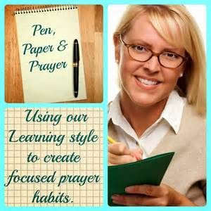 Read Write Learning Style Essay by 1 Minute Bible Notes Paper Pen Prayer Learning Style
