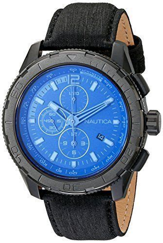 Jam Tangan S Leather Analog Stainless Steel Quart s nad21504g nst 101 black stainless steel with leather band college