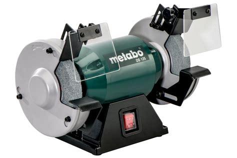 metabo ds 200 8 inch bench grinder ds 125 619125180 bench grinder metabo power tools