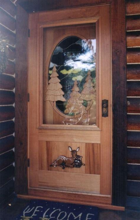 Handmade Screen/Storm Door Over Custom Entry Door by
