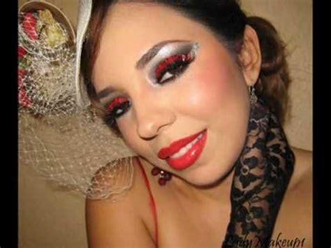 Make Up Di Mahmud can can dancer makeup