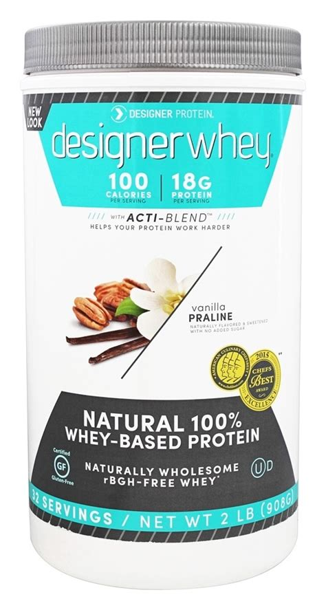 Exclusive 100 Soy Protein Powder 2 2lbs Alternatif Wpi Dan Wp buy designer designer whey 100 premium whey protein powder vanilla praline 2 lbs at