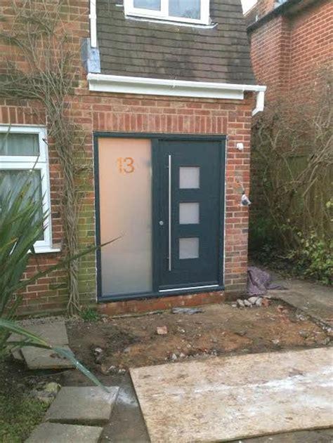 Front Door Patio New Front Door And Patio In Bourne End Buckinghamshire Dna Builders Thame Oxfordshire