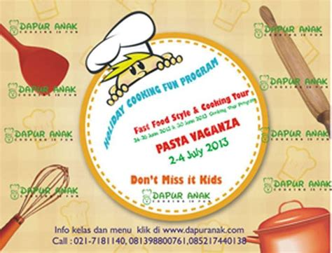 Juicer Vaganza pasta vaganza parents events liburan anak