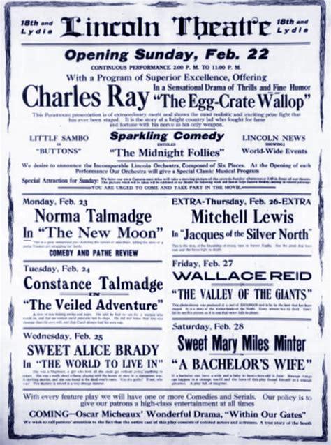 grand theatre lincoln lincoln theatre cinema treasures