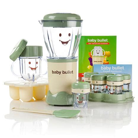 Blender Baby Bullet 21 baby food system with cookbook and nutrition