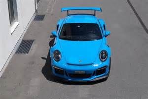 Mexico Blue Porsche Eye Mexico Blue Porsche Gt3 Rs