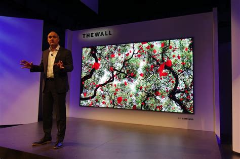 samsung wall tv samsung s plan to beat oled qled micro array and micro led