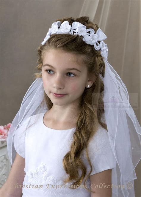 pictures of childrens hair with communion veil pin by shawna mester faust on aubrey pinterest