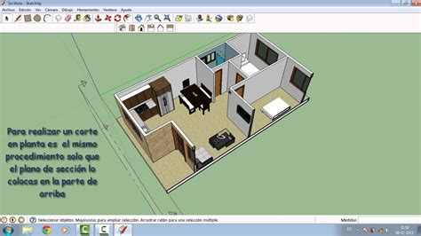 sketchup layout que es como hacer corte o secci 243 n de planos en sketchup youtube