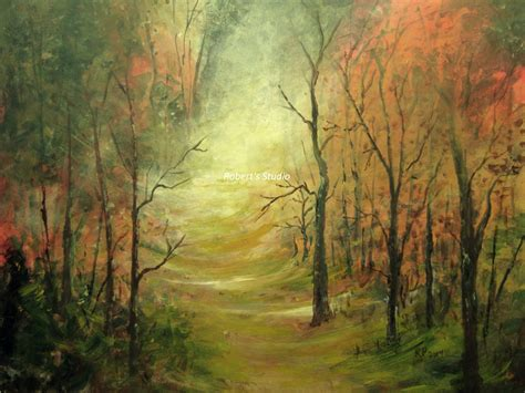 acrylic painting description original painting acrylic painting landscape painting autumn