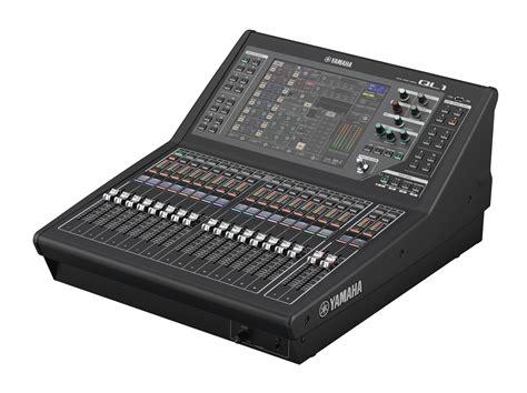 ql series mixers products yamaha
